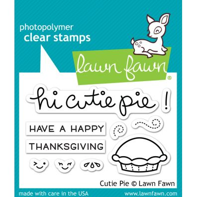 Lawn Fawn Clear Stamp – Cutie Pie