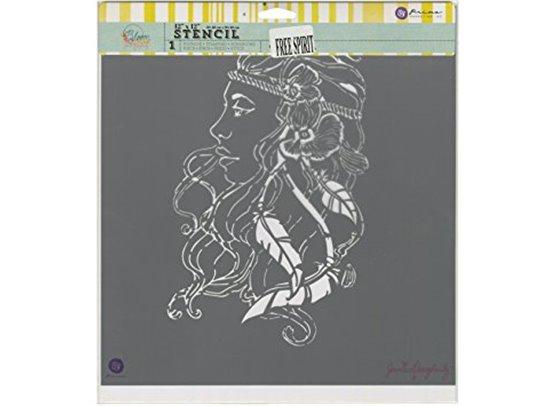 Prima Bloom Stencil 12x12 – Free Spirit