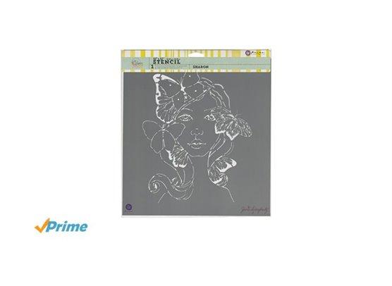Prima Bloom Stencil 12x12 – Sharon