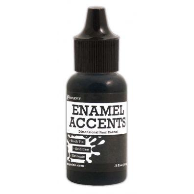 Ranger Enamel Accents – Black Tie