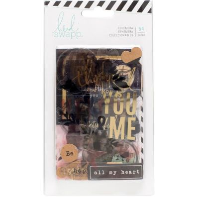 Heidi Swapp Clear Ephemera - Diecuts