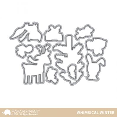 Mama Elephant Creative Cuts - Whimsical Winter