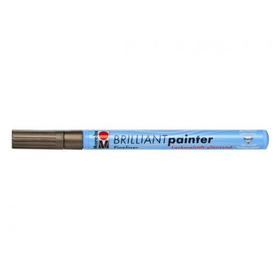 Marabu Brilliant Painter 1-2 mm - Kobber
