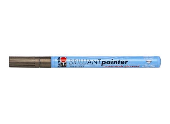 Marabu Brilliant Painter 1-2 mm - Kobber