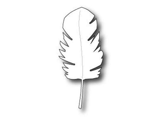Poppy Stamp dies Fluffy Feather