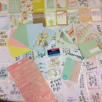April Project Life Kit 2016