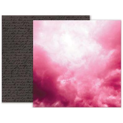 Pink Paislee Moonstruck - Paper 07 mønsterpapir