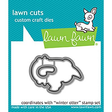 Lawn Fawn Dies - Winter Otter