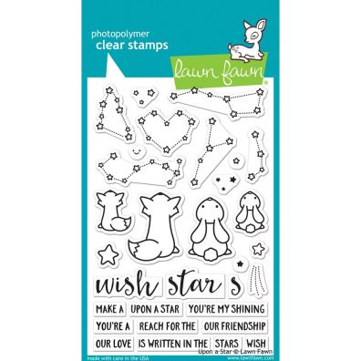 Lawn Fawn Upon a Star Clear Stamp