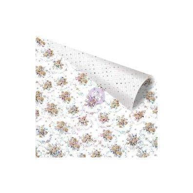 Zella Teal - Floral Stories Mønsterpapir fra Prima