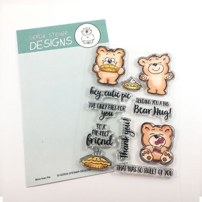 Gerda Steiner Clear Stamps - More Than Pie