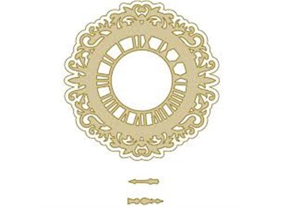 Richard Garay Silver & Gold Collection Dies - Medallion Clock