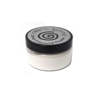 Cosmic Shimmer Detail Embossing Powder - True White