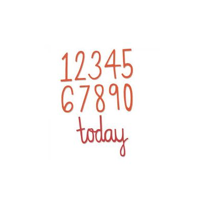 Sizzix Thinlits Dies - Birthday Numbers