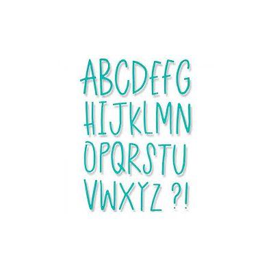 Sizzix Thinlits Dies - Delicate Letters