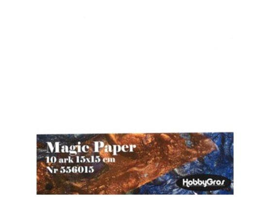Magic Paper 15 x 15 cm.