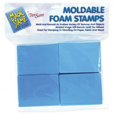 Magic Stamp Moldable Foam Stamps 8 stk