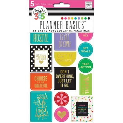 Me and My Big Ideas Pocket Pages Stickers - Friends Gold