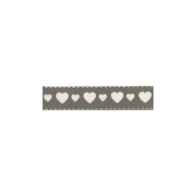 Vaessen Creative Bånd - Hearts 15 mm x 1 m