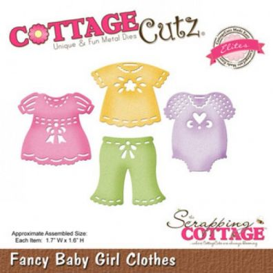 Cottage Cutz Dies Fancy Baby Girl Clothes