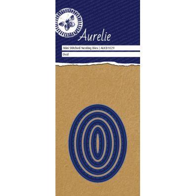 Aurelie Dies - Mini Stitched Nesting Dies Oval