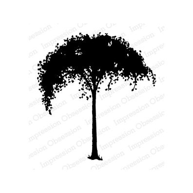 Impression Obsession stempel - Solid Tree
