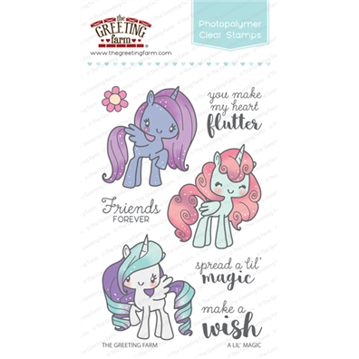 The Greeting Farm Clear Stamps - A Lil' Magic