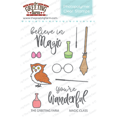 The Greeting Farm Clear Stamps - Magical Class
