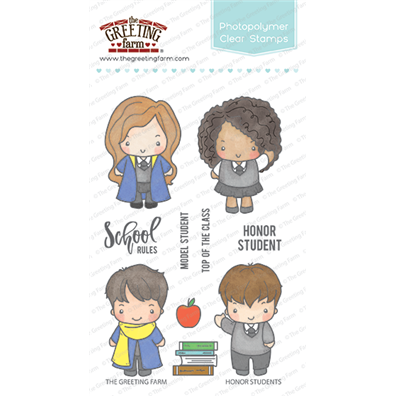 The Greeting Farm Clear Stamps - Honor Students