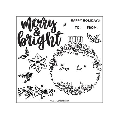 Concord & 9th Ornamental Clear Stamp Set
