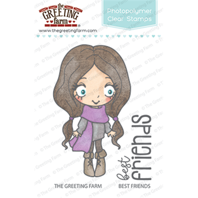 The Greeting Farm Clear Stamps - Best Friends