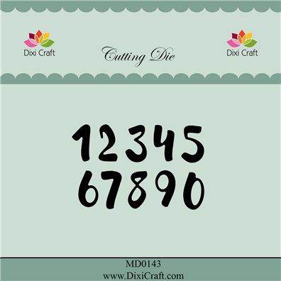 Dixi Craft Dies - Brush Numbers