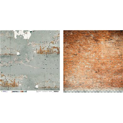Industrial 2.0 08 mønsterpapir fra Studio Light