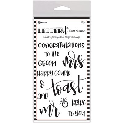Ranger Letter It Clear Stamp - Wedding