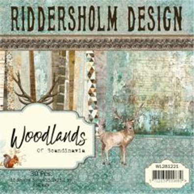 Riddersholm Design - Woodlands of Scandinavia 6x6 Paper Pack