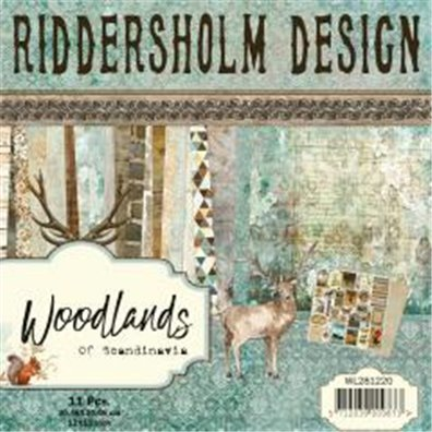Riddersholm Design - Woodlands of Scandinavia 12x12 Paper Pack