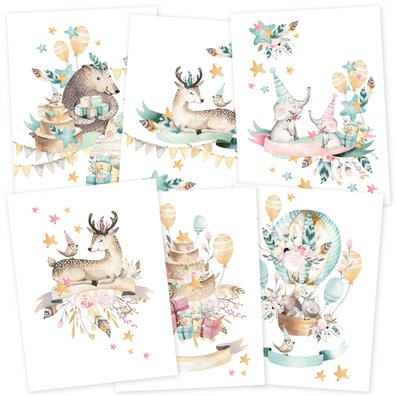 Piatek13 Cute & Co Paper Pack - Mini Posters