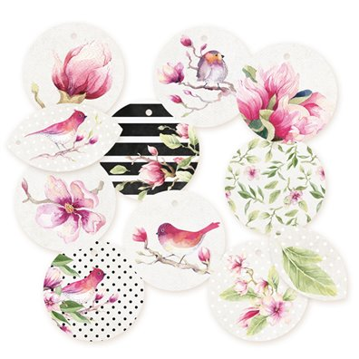 Piatek13 Hello Beautiful - Decoration Tags Set 1