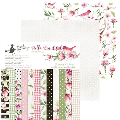 Piatek13 Hello Beautiful 6x6 Paper Pad