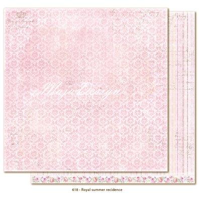 Sofiero - Royal Summer Recidence Mønsterpapir fra Maja Design