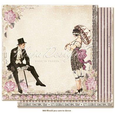 Celebration - Would You Care to Dance? Mønsterpapir fra Maja Design