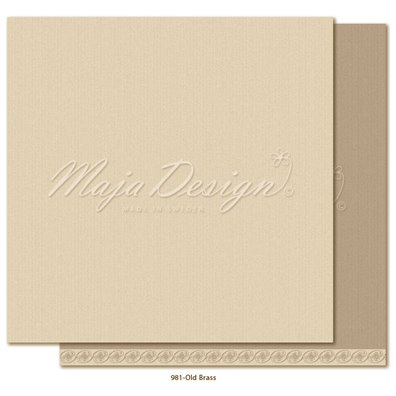 Monochromes - Shades of Celebration - Old Brass Mønsterpapir fra Maja Design