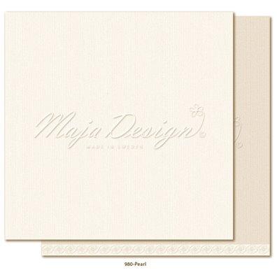 Monochromes - Shades of Celebration - Pearl Mønsterpapir fra Maja Design
