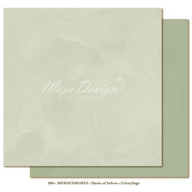 Monochromes - Shades of Sofiero - Celery/Sage Mønsterpapir fra Maja Design