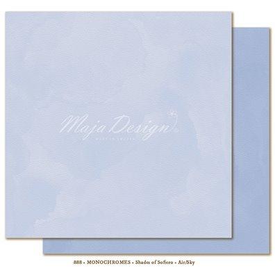 Monochromes - Shades of Sofiero - Air/Sky Mønsterpapir fra Maja Design