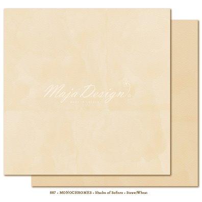 Monochromes - Shades of Sofiero - Straw/Wheat Mønsterpapir fra Maja Design