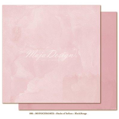 Monochromes - Shades of Sofiero - Blush/Rouge Mønsterpapir fra Maja Design