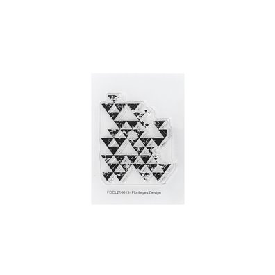Florileges Design Clear Stamp - Traces De Triangles