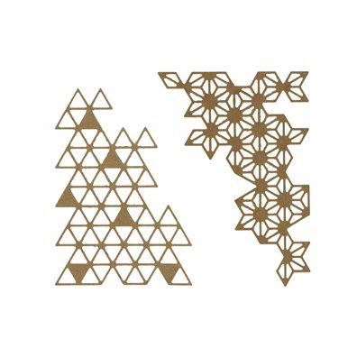 Florileges Design Dies - Bouts Geometriques
