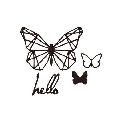 Florileges Design Dies - Hello Butterfly